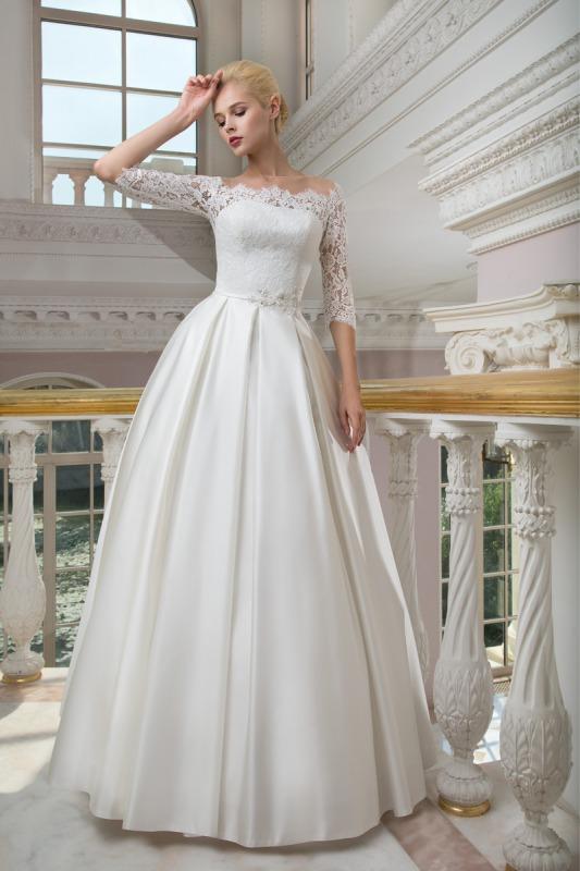 Свадебные платья без шлейфа